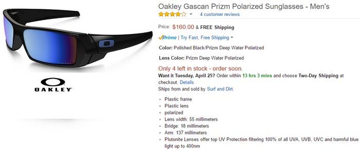 Dapatkan cermin mata berjenama Oakley berkualiti bergaya di website eCommerce Amazon