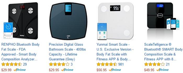 Dapatkan penimbang berat BMI badan yang berkualiti di Amazon