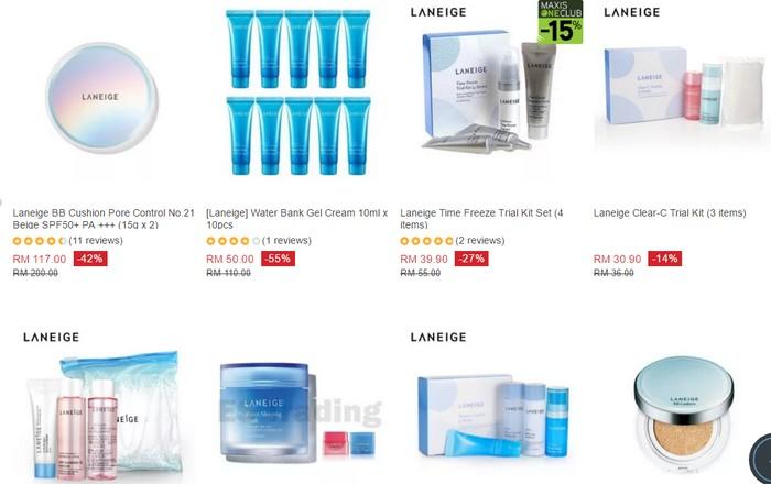 Dapatkan produk skin care Korea murah dan berjenama Laneige di website eCommerce Lazada Malaysia