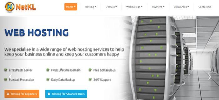 Langgan dan bayar untuk menggunakan pakej web hosting Malaysia murah dari NetKL