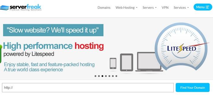 Prestasi loading pantas dengan melanggan pakej web hosting Malaysia dari ServerFreak