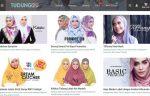 Laman Web Kedai Jualan Tudung Online Popular Malaysia