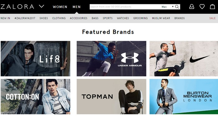 Zalora Malaysia adalah web online shopping Malaysia yang fokus kepada fesyen