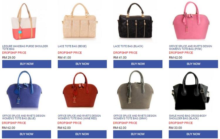 Dapatkan produk dropship murah pelbagai barangan di website Kumoten
