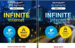 Pakej pelan Digi Infinite Internet Plan yang terbaru menawarkan kuota data unlimited