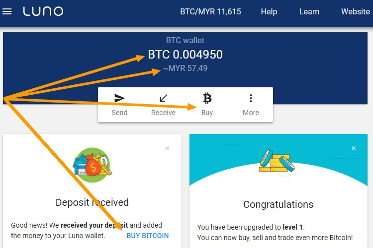 Cara mudah beli bitcoin di Malaysia melalui internet