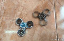 Gambar dan bentuk sebenar fidget spinner