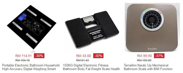 Alat timbang berat badan digital jenis portable mudah alih yang murah untuk kegunaan di rumah