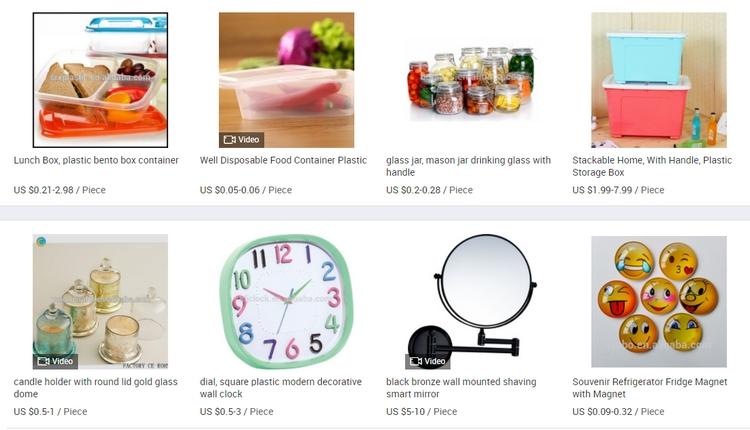 Borong barang dari China murah melalui website Alibaba