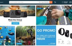 Beli kamera GoPro dan aksesori mudah di website eCommerce Lazada