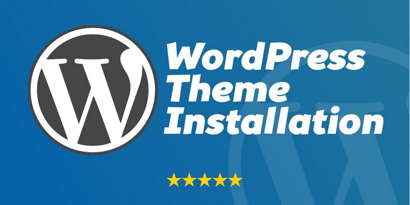 Pakej service install WordPress pada domain hosting anda