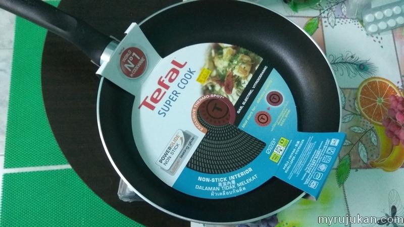 Saya beli periuk kuali Tefal murah di Rantau Panjang Kelantan