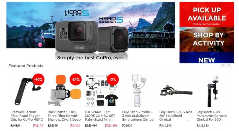 Website Cameralah adalah website terpercaya untuk kamera GoPro
