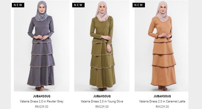 Dapatkan pakaian wanita dengan harga jualan murah online