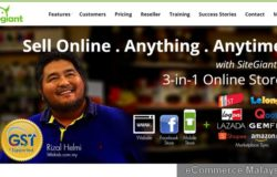 Pakej eCommerce shopping cart online store Malaysia
