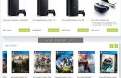 Beli DVD Blu-Ray Game untuk PlayStation XBOX dan PC