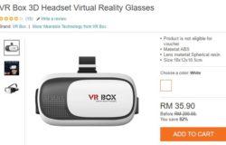 Beli virtual reality headset murah online