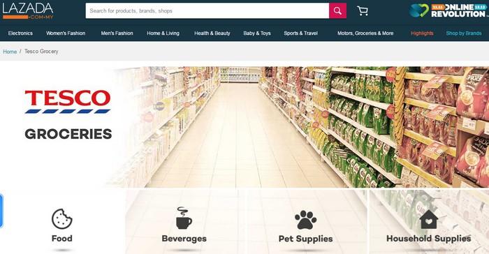 Beli Barangan Dapur Rumah Secara Online Di Tesco Jpg