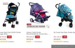 Beli dan dapatkan pelbagai jenis baby stroller di Lazada Malaysia