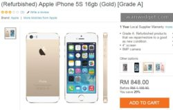 Beli iPhone refurbished di Lazada online