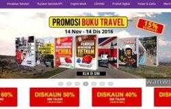 Laman web kedai buku online pilihan popular Malaysia