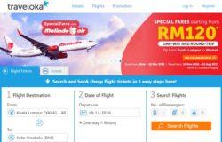 Tempah tiket kapal terbang dan booking bilik hotel mudah secara online