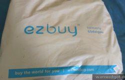 Barang parcel dari EzBuy sudah sampai