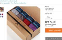 Contoh beli seluar dalam jenis boxer di internet