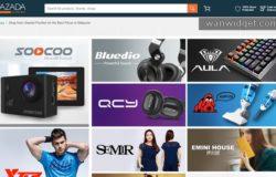 Produk barangan dari China yang dijual di Malaysia