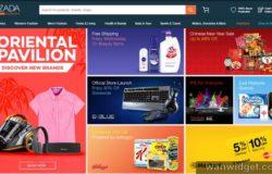 Website laman web online shopping Lazada Malaysia