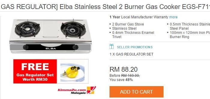 Beli Dapur Memasak Murah Berkualiti Jenama Elba Di Lazada Malaysia