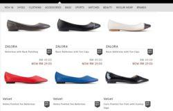 Beli kasut wanita murah di Zalora Malaysia