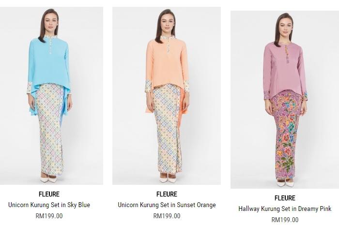 Website ECommerce Fashion Pakaian Wanita Malaysia