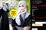 Senarai Website eCommerce Jenama Pakaian Muslimah Malaysia