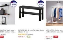 Beli produk ikea yang murah dengan mudah secara online di Lazada Malaysia