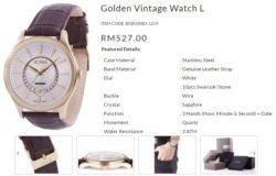 Dapatkan jam tangan yang sesuai untuk hantaran perkahwinan dari jenama Bonia