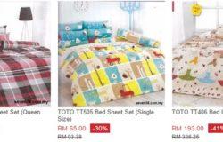Dapatkan selimut toto yang murah di Lazada Malaysia