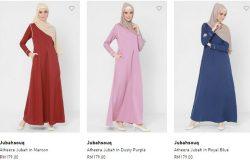 Beli jubah wanita muslimah yang lembut sejuk di internet melalui website eCommerce FashionValet