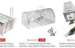 Beli perangkap tikus jenis sangkar kawat besi Di Lazada Malaysia