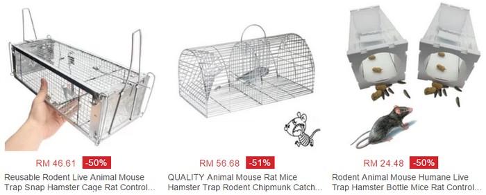 Beli Perangkap Tikus Jenis Sangkar - Wanwidget