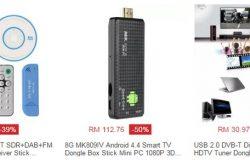 Beli tv tuner murah untuk komputer di website eCommerce Lazada Malaysia