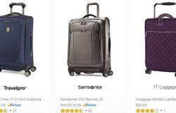 Dapatkan beg tarik beroda berkualiti dan cantik di internet melalui website Amazon