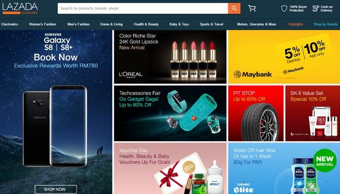 Senarai Laman Web Online Shopping Malaysia Terpercaya