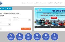 Tempah tiket bas express pelancongan secara online