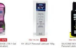 Beli gel pelincir lubricant wanita untuk mengurangkan kekeringan faraj di Lazada Malaysia