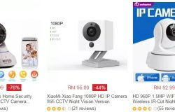 Beli kamera cctv mudah alih yang berkualiti dan murah secara online di website eCommerce Lazada Malaysia
