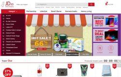 Gambar website online shopping Indonesia terbesar dari toko eCommerce JD