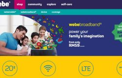 Pakej internet murah dari wireless broadband webe