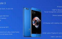 Spesifikasi Xiaomi Mi Note 3