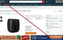 Contoh sebenar kod baucer Lazada yang terpapar di website eCommerce Lazada Malaysia